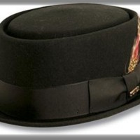 Pork Pie Hat, black