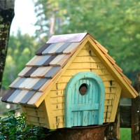 Prairie Home Bird House