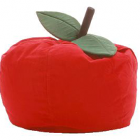 Red Apple Bean Bag Chair
