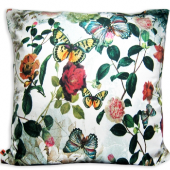 SIlk Butterfly Pillow Cover