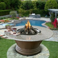 San Luis Obispo Fire Pit Table