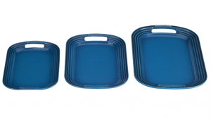 Set of 3 Serving Tray Platters