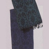 Shawls from Nepal, blue