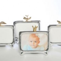 Silver & Gold Baby Frames