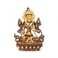 Small Gold Faced Tara Statuette