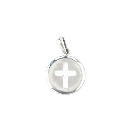 Small silver cross pendant cottage industry small silver cross pendant mozeypictures Images