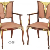 Splitback Gilt Chairs