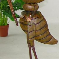 Sports Player Cricket Garden Decor