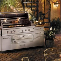 Stainless Steel Outdoor Grill Set
