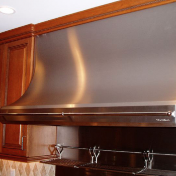 Stovetop Hood & Pot Rail