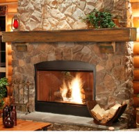 Tahoe Fireplace Mantel Shelf