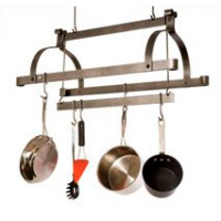 Three-Bar Hanging Pot Rack
