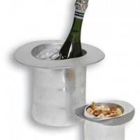 Top Hat Champagne and Nuts Bucket
