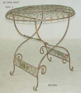 Tuileries Garden Table