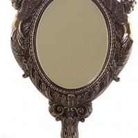 Two Cherubs Tabletop Mirror