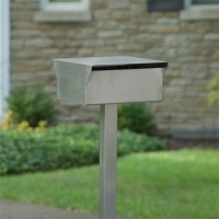 Ultramodern Stainless Steel Mailbox