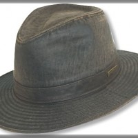 Weathered Cotton Fedora