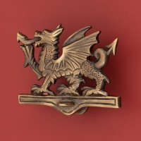 Welsh Dragon Door Knocker