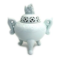 White Porcelain Incense Holder