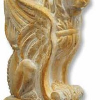 Winged Lion Console Table Base