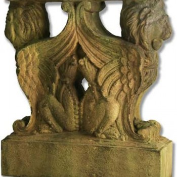 Winged Lions Table Base