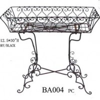 Wrought Iron Buffet Table