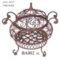 Wrought Iron Serving Dish