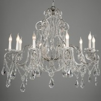 10 Light Crystal Chandelier Article 426
