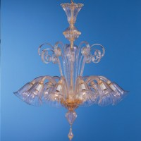 8 Light Murano Chandelier