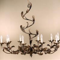 Acanthus 10 Light Chandelier