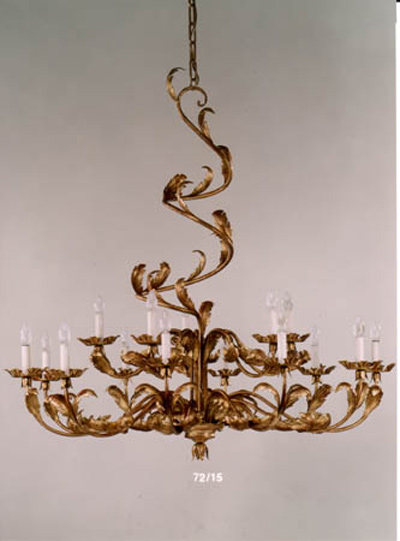 Acanthus 15 Light Chandelier