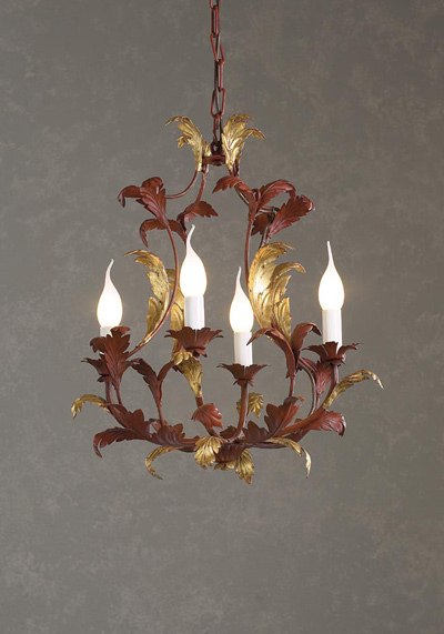 Acanthus 4 Light Chandelier