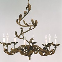 Acanthus 8 Light Chandelier