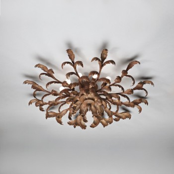 Acanthus Ceiling Light with 10 Lights