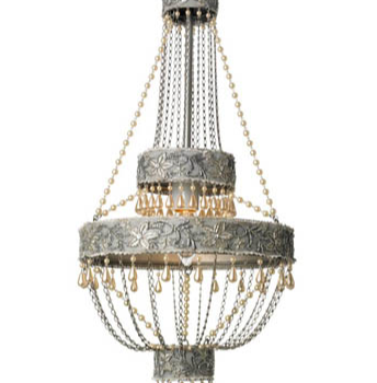 Adele Chandelier 10 inches x 21.5 inches