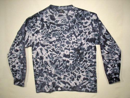 Adult's Tie Dye Long Sleeve T Shirt
