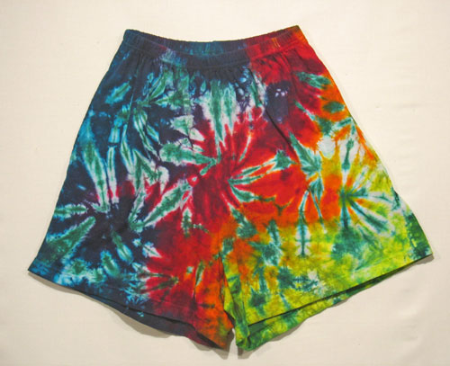 Adult's Tie Dye Shorts