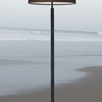 Aki II Bronze Floor Lamp