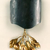 Article 103 Fruit Sconce with Metal Shade