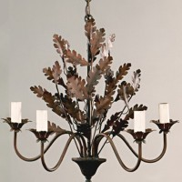 Article 115 Oakleaf 5 Light Chandelier