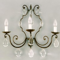 Article 122 Sconce with 3 Lights