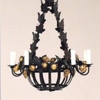 Article 160 Fruit Basket Chandelier