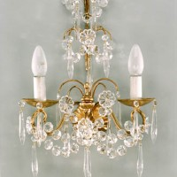 Article 166 2 Light Crystal Sconce