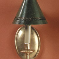 Article 18 Brass Sconce
