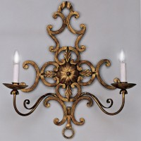 Article 189 Forged 2 Light Sconce