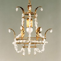 Article 190 Empire 1 Light Chandelier