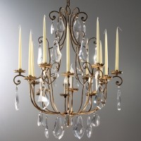 Article 374 Bohemia Chandelier with Candles