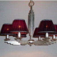 Article 462 Silver Chandelier