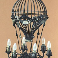 Article 73 Small 6 Light Air Balloon Chandelier