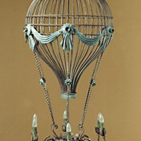 Article 75 Giant 6 Light Air Balloon Chandelier